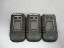 Lot Of 3 Fair Used Nextel Motorola Bute I680 Rugged Waterproof Clean Imei/Esn
