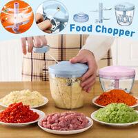 Manual Fruit Vegetable Chopper Hand Pull Food Cutter Grinder Home Kitchen Gadget