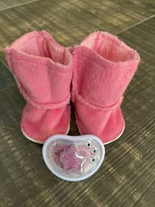 Baby Born Pink Winter Boots And Dummy
