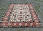 Vintage 1970s Veg. Dye Wool Caucasian Kazak Kilim Rug 6.5' x 10' Great Condition