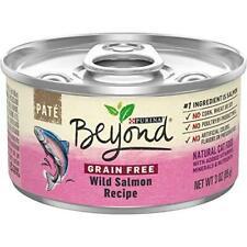Purina Beyond Grain Free, Natural Pate Wet Cat Food, Grain Free Wild Salmon Reci
