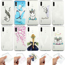 Ultra Thin Silicone TPU Paint Case Cover For Samsung Galaxy M20 A50 A7 A9 2018