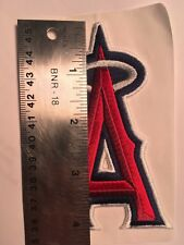 """Angels patch baseball patch 4"""" tall  Los Angeles Angels A halo patch"""