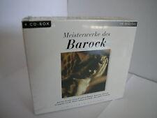 Meisterwerke des Barocks  (Limited Edition) Box-Set  NEW NUOVO SIGILLATO 4 CD