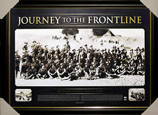 JOURNEY TO THE FRONT LINE ANZAC Gallipoli Framed Limited Edition
