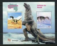 27490) Guinea 1998 MNH New Prehistoric Animals S/S Bf
