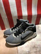 Nike Zoom Ascention Basketball Shoes Sz 6.5 Grey Black White 834319-002 VGC