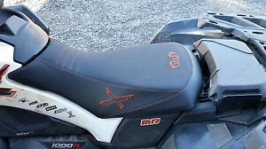 can am can-am outlander xmr 570 650 800 1000  mudding / swamp seat  cover gen 2