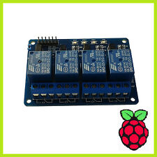 Bex 4 Canale Relay Relè Modulo 5v optokoppler 4-Channel Arduino Raspberry 003