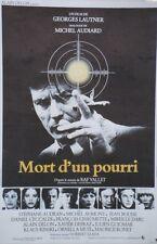 MORT D'UN POURRI Affiche orig. entoil Georges LAUTNER,Michel AUDIARD,Alain DELON
