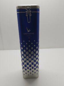 Grey Goose Vodka Advertising Limited Edition Empty Single Bottle Tin Box