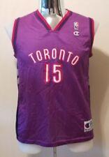 Vintage Vince Carter Toronto Raptors #15 Champion Purple Jersey Youth XL 18-20