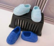 Kelly TOMMY BOY Friend Doll Clothes~2 Pair Royal/Light BLUE TENNIS Sneaker Shoes