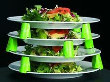 More details for plate spacers set of 9 green blocks  - 41mm high - dishwasher safe