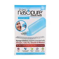 Nasopure Nicer Neti Pot System - Dr Hanas Nasal Wash Kit