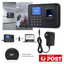 "Biometric Fingerprint Attendance Machine 2.4"" Employee Checking-in Recorder Time"