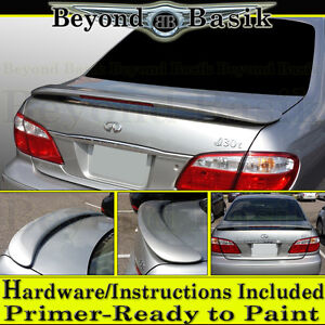 For 2000-2004 Infiniti I30 I35 Factory Style Spoiler Wing w/LED PRIMER