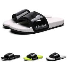 Mens Flats Slingbacks Beach Slippers Shoes Open Toe Pool Sand Walking Non-slip B