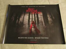 RED RIDING HOOD movie poster (UK Quad) AMANDA SEYFRIED - 30 x 40 inches