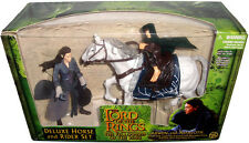 Lord of the Rings Arwen & Asfaloth Deluxe Horse & Rider Figure Set MIB LOTR RARE