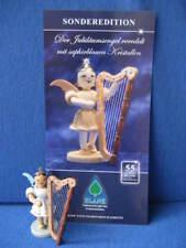 Kurzrockengel Engel farbig mit Harfe Fa. Blank Sonderedition Grünhainichen