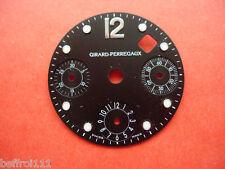 Cadran dial montre Girard Perregaux Zifferblatt.Chrono chronographe chronometre