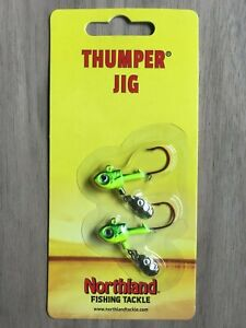 Northland Fishing Tackle - Thumper® Jig - 1/8 oz. - Multiple Color Options