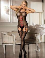 Women /sissy Lingerie Babydoll Bodystocking Nightwear Underwear S-xl Ax11 12