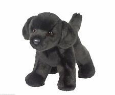 BEAR Douglas Cuddle Toy plush BLACK LAB stuffed animal small puppy dog labrador