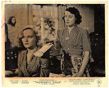 Thursday's Child original lobby card 1943 Kathleen O'Regan Eileen Bennett