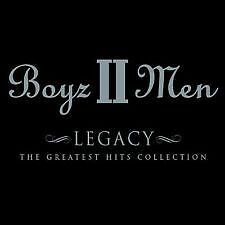 BOYZ II MEN - LEGACY : GREATEST HITS CD  NEW SEALED