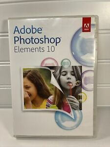 Official Adobe Photoshop Elements 10 Costco Special Edition 3 Discs PC and MAC
