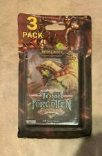 World Of warcraft Tomb Of The Forgotten Aftermath 3 15 card Packs Sealed