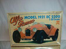 BANDAI 5357 KIT (unbuilt) ALFA ROMEO 8C 2300 - 1931 - RED 1:20 - RARE - NMIB