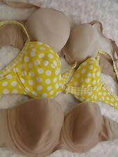 32E Bra Bundle x3 underwired bras inc. PANACHE  ladies lingerie (712)