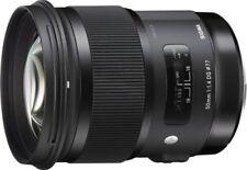 Objectifs Sigma pour appareil photo et caméscope 50 mm