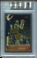 1996 '96 Topps Chrome Basketball #138 Kobe Bryant Rookie Card BGS MINT 9 w 9.5