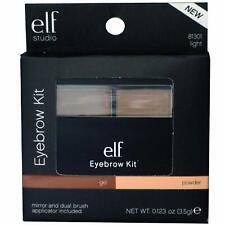 ELF e.l.f. Studio Eyebrow Kit Powder Wax Makeup LIGHT 81301  Brand New in Box