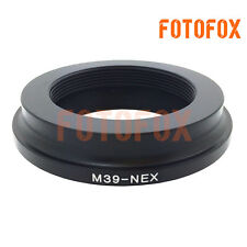 M39-NEX For Leica M39 L39 LTM lens to Sony NEX E mount adapter NEX6 A7 A7R A6300