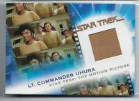 MC9 LT COMMANDER UHURA COMPLETE STAR TREK MOVIES RELIC COSTUME MATERIAL #/1501