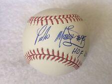 Pedro Martinez Boston Red Sox Autographed Baseball with HOF 15 Insc  PSA/DNA
