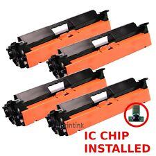 4pk CF230A Toner Cartridge For HP 30A Laserjet M227fdn M203dn M203dw M227fdw