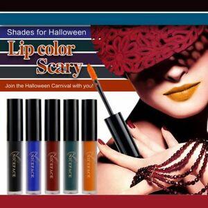 Makeup Luxury Lip Balm Nude Matte Lipstick Long Lasting Halloween Party