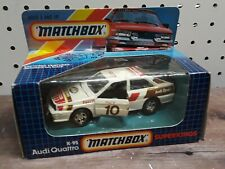 Matchbox Superkings Audi K-95 Quattro Pace Car Racing 1/43 Vintage Toy