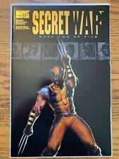 SECRET WAR: BOOK TWO OF FIVE MARVEL PSR NM COPY