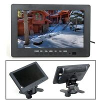 "Portable 7"" Inch Monitor Display 1024*600 VGA BNC Video Audio For PC CCTV Camera"