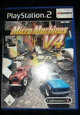 Kultspiel Playstation 2 Micro Maschines V4*Mehrspieler Action*Retro Racing Game*