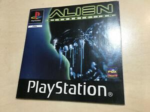 Alien Resurrection Playstation 1 PS1 Manual only