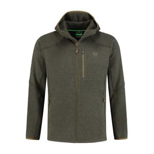 Korda Kore Polar Fleece Jacket NEW Carp Fishing Green Fleece Zip Top *All Sizes*