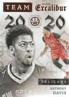 2015-16 Panini Excalibur Team 2020 #1 Anthony Davis New Orleans Pelicans